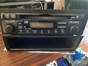 Stock stereo receiver from 2005 Honda Civic