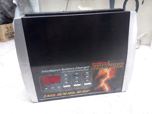 Intelligent battery charger 30A