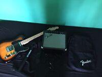 Fender Squire telecast