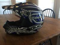 New HJC ATV/Motocross Helmet - Large