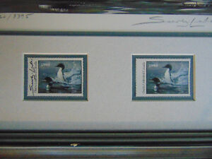 1988 Ducks Unlimited Canada plus Conservation stamp 50yrs London Ontario image 6