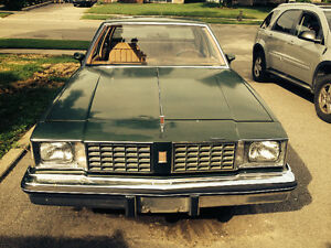 1980 Cutlas LS only 66,000 km's in Great shape V8 4.3L