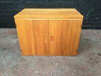 Beautiful pine two door cabinet