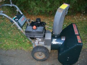Snow Blower reconditioned  $425.00