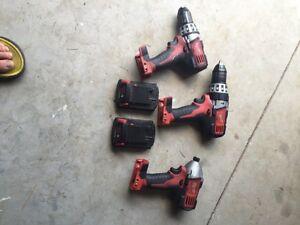Milwaukee M-18 Tools