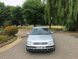 2004 Volkswagen Golf 1.6 Match 5 Door Hatchback Silver