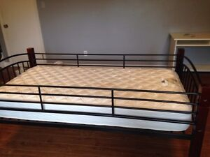 Single bed frame and mattress  Peterborough Peterborough Area image 1