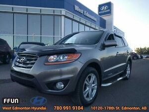 2011 Hyundai Santa Fe Limited AWD  AWD leather heated seats blue
