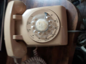 Antique Dial Phone for sale as is
