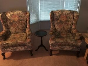 2 Wing Chairs for $50