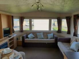 STATIC CARAVAN FOR SALE WITH CHEAP FEES DOUBLE GLAZED AND HEATED