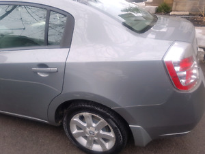 Silver nissan sentra as is