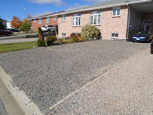 One bedroom+4pc.bath &lrg.living area with fireplace, all yours