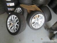 18 inch DAI Autobahn Wheels -- 5x120 -- Hyper Silver  NO TIRES
