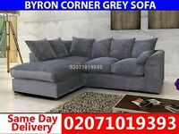 Grey Color Corner Sofa--Order Now!