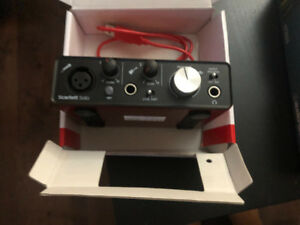 Scarlett Solo 2nd generation 2 in 2 our USB interface