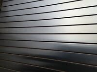 CLASSY STAINLESS STEEL IMPORTED SLATWALL!