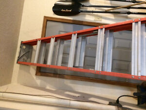 10 foot A frame ladder: as new condition
