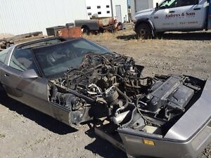 Parting out 1984 corvette
