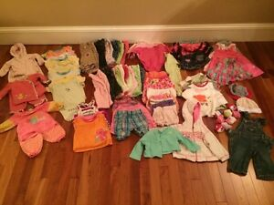 Girls clothes size 0-3 months