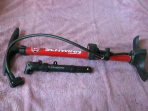 SCHWINN AIRDRIVER 1100 and PEAKINI (PORTABLE) BICYCLE PUMPS