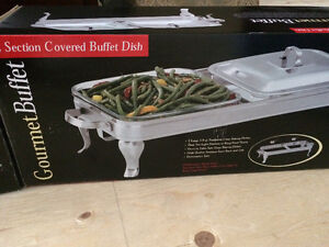 Gourmet Buffet- 3 piece set, like new in box