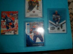 SET OF 4 CONNOR MCDAVID CARDS