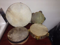 Drum Set and tambourines ask for price