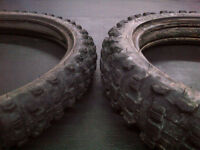 used tires off crf125f big wheel
