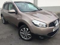 2011 61 NISSAN QASHQAI 1.6 TEKNA 2WD 5DR 2 OWNERS ONLY 54000 MILES