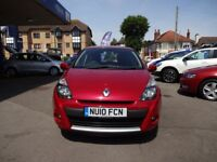 Renault Clio DYNAMIQUE TCE (red) 2010