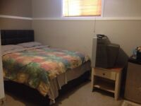 Rent a room with private bathroom daily or weekly in Timberlea