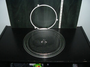 REPLACEMENT TURNABLE GLASS PLATE TRAY FOR MICROWAVE