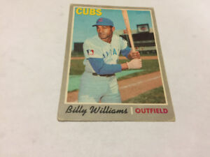 1970TOPPS OPC O PEE CHEE BASEBALL#170 BILLY WILLIAMS CHICAG CUBS
