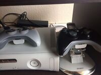 2 Xbox 360 Consoles with Controller