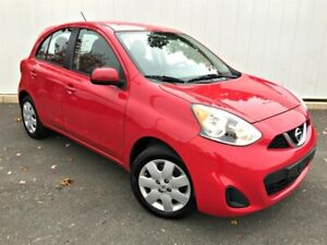 2016 Nissan Micra SV 5 Dr. Auto low kms! $109 Bi weekly
