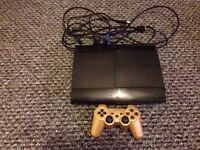 PS3 super slim 500gb 15 games