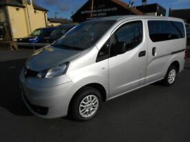 2012 Nissan NV200 DCI SE COMBI Diesel Wheelchair Accessible Vehicle WAV