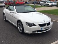 BMW 630i Convertible sport auto full loaded Px welcome Mercedes BMW audi