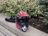 casque motocross bombardier xl