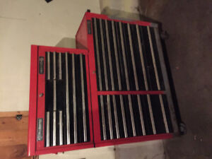 Matco top and bottom box includes tools