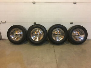 14 Inch Chrome Wheels with Tires