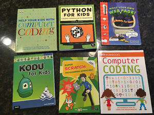 Computer Coding Books for Kids