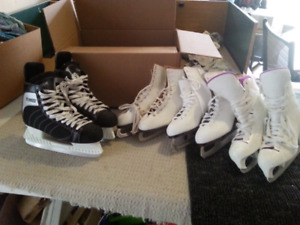 Kids and adult skates