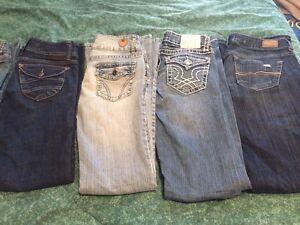 Bootlegger jeans like new