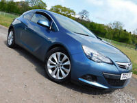 2013 VAUXHALL ASTRA GTC 2.0CDTi 16v AUTO SRi 3 DOOR COUPE SPORTS