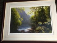 Limited edition Michael j smith giclee print