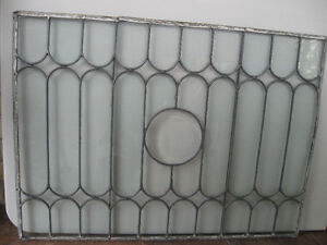 Antique Leaded Window Panels