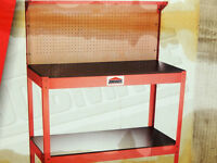 WORK BENCH brand new in box, solid steel