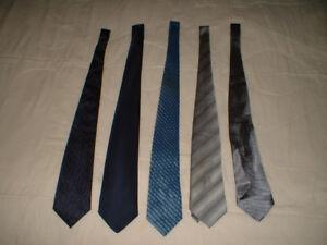 Cravates diverses / Various ties
